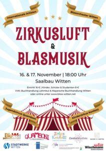 Blasmusik & Zirkusluft @ Saalbau Witten